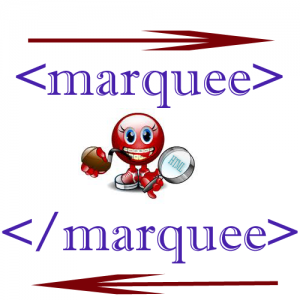 marquee-in-html
