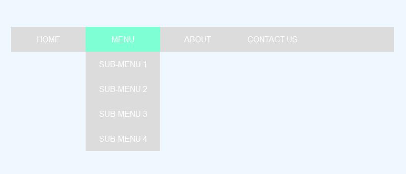 Membuat Menu Dropdown Sederhana dengan HTML & CSS - Kursus