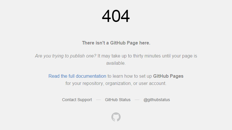 github-error-pages