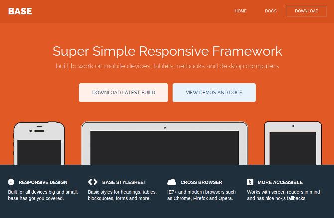 Base-responsive-framework