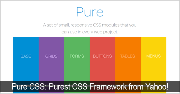 pure-css-framework-from-yahoo
