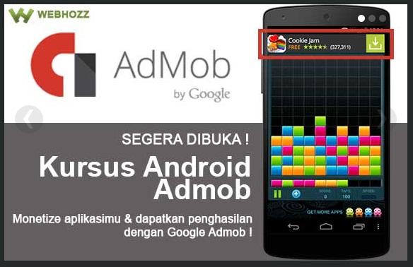 kursus android admob