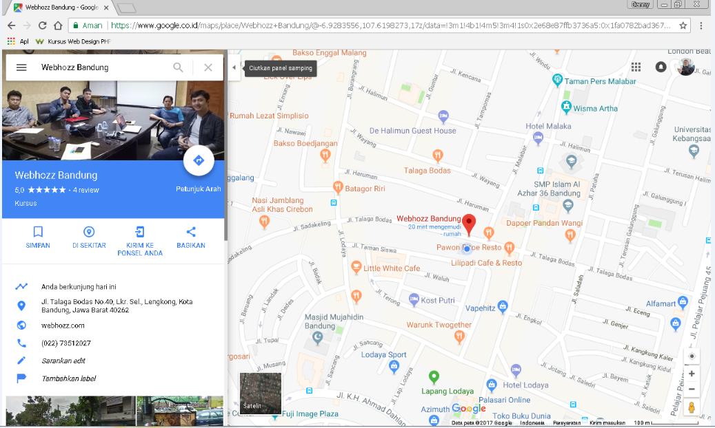 Cara Memasukkan Google Maps Ke Dalam File Html Webhozz Blog